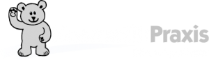 BärenApotheke Logo KosmetikPraxis RZ weiß